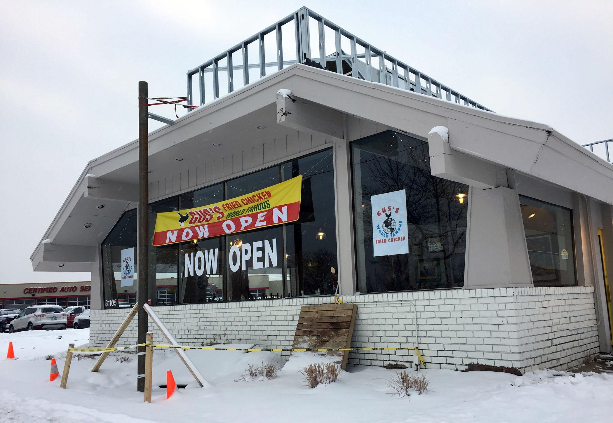 Gus S Fried Chicken Now Open In Royal Oak