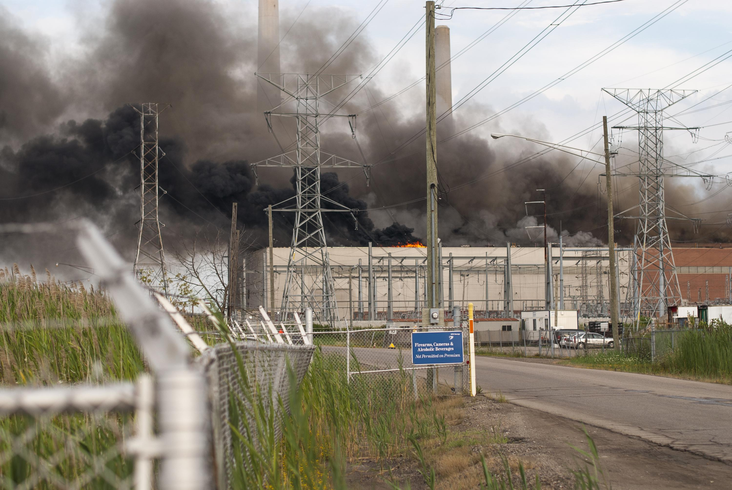 Fire Shuts Down Dte Power Plant In St Clair County What Is A Electrical No Injuries Or Cause Of Blaze Reported Among Those To Be Closed Over Next Seven Years