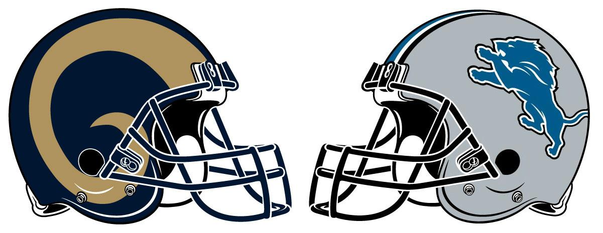 Image result for LA Rams vs. Lions