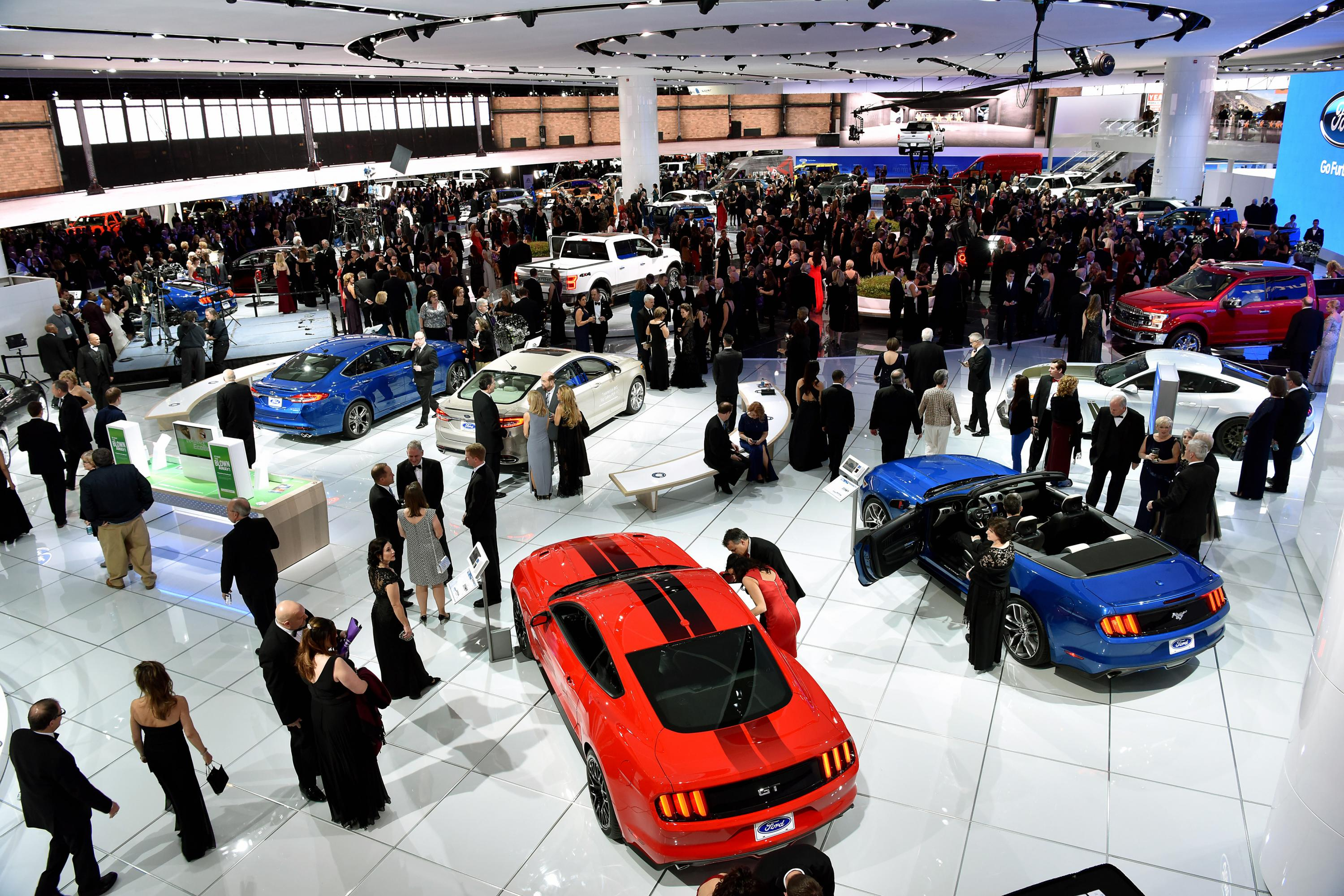 Tickets On Sale For Detroit Auto Show - Car show detroit 2018