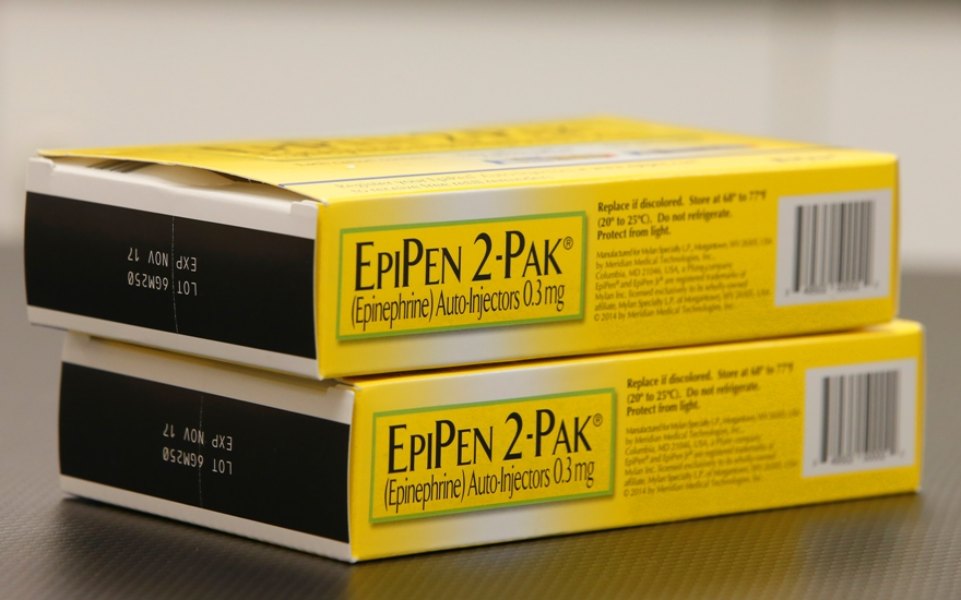 michigan blues to cover only generic version of epipen allergy
