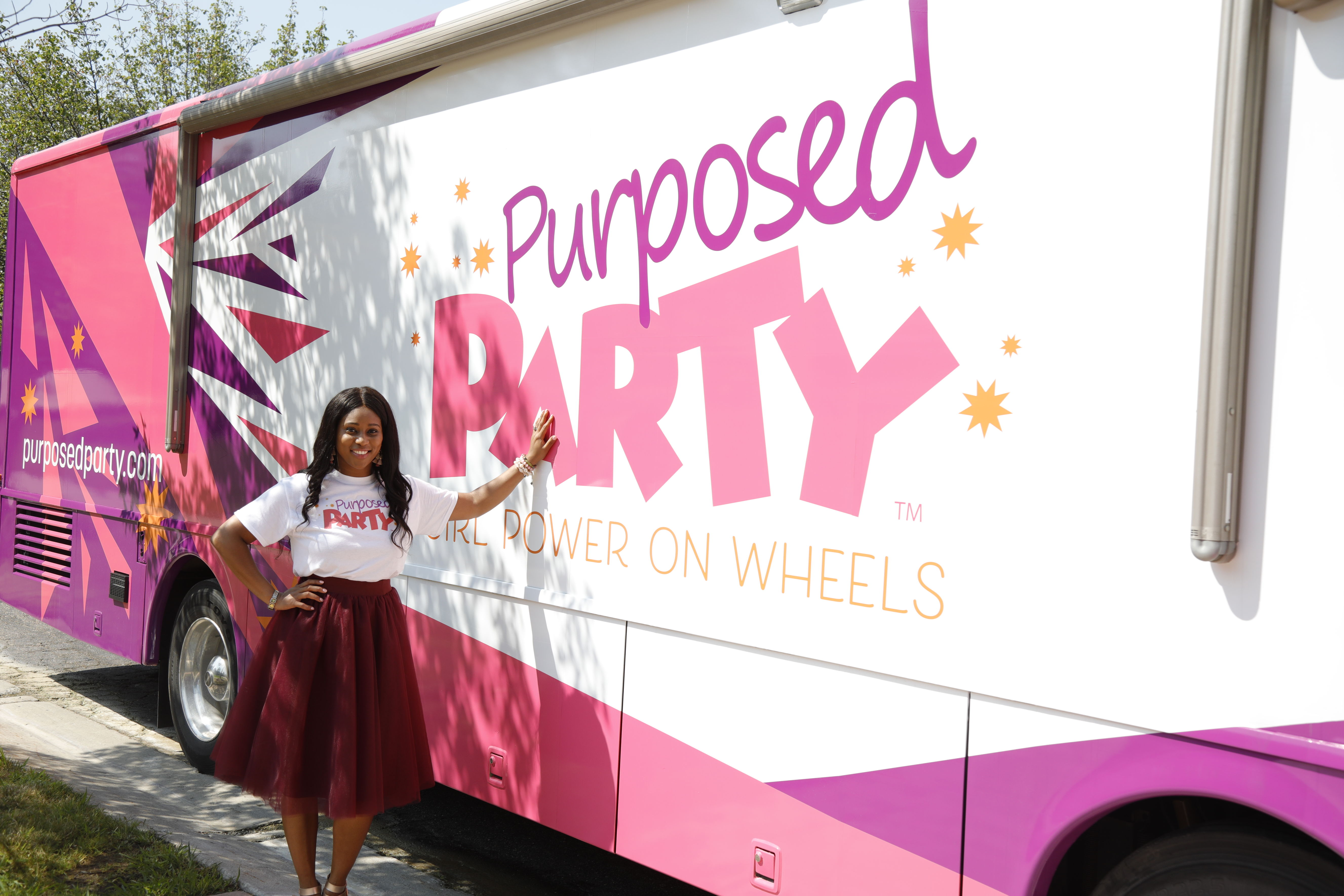New party bus venture looks to empower girls, women