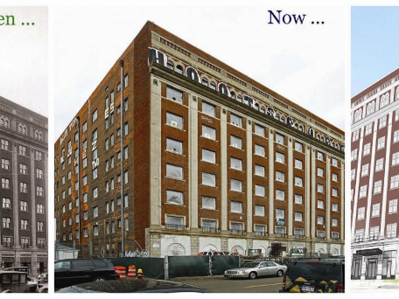 Sale Of Ford Building Crains Detroit