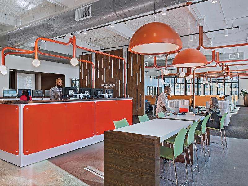 Detroit workspace design grows up