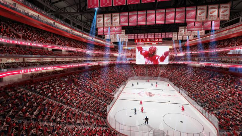 red wings halfway done with season ticket transition to little