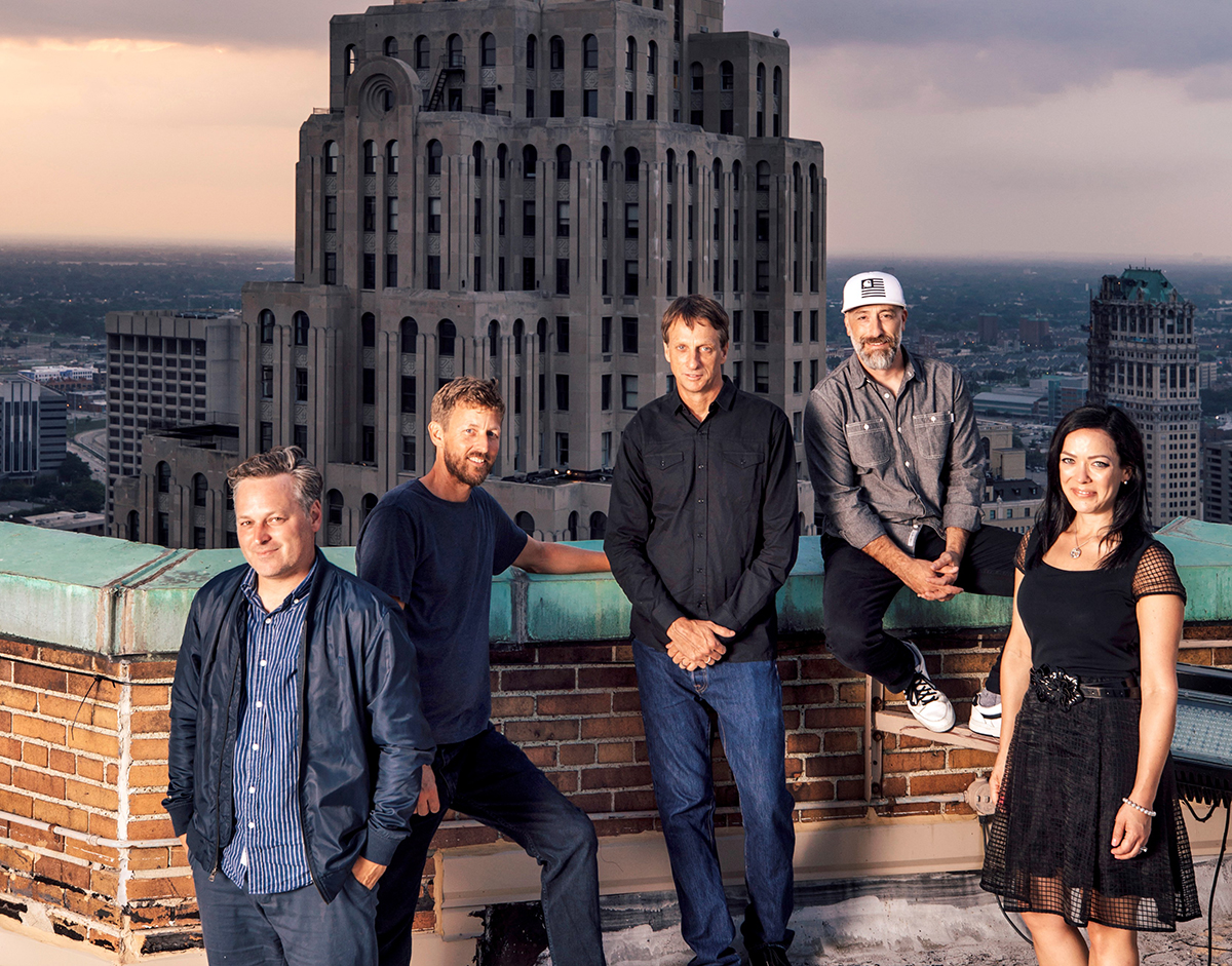 tony hawk launches brand consulting agency in detroit